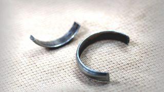 指輪が抜けずに切るしかなかった・・・