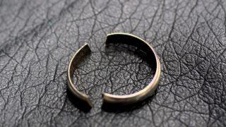 指輪が壊れていても捨てないでください!