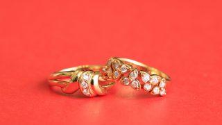 個性的なデザインの指輪も大歓迎です!