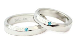 刻印や色石のついた指輪も積極的に承っております!
