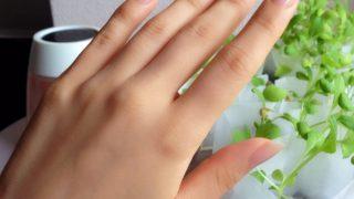 手を美しく見せるために。