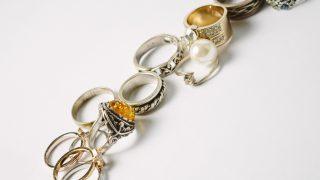 個性的なデザインの指輪も承ります!
